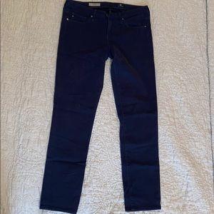 "Adriano Goldschmied Navy ""The Slilt"" Jeans"